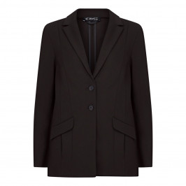 VERPASS SINGLE BREASTED JACKET BLACK - Plus Size Collection