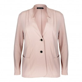 VERPASS LIGHT PINK PUNTO MILANO JACKET - Plus Size Collection
