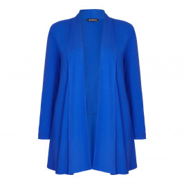 VERPASS royal blue long jersey CARDIGAN - Plus Size Collection