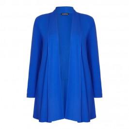 VERPASS royal blue long jersey CARDIGAN