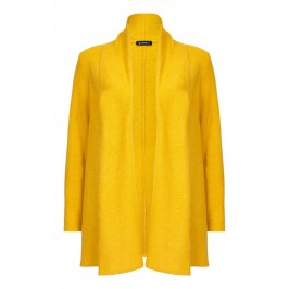 VERPASS amber boiled wool long JACKET - Plus Size Collection