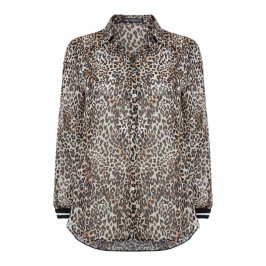 VERPASS ANIMAL PRINT SHIRT - Plus Size Collection