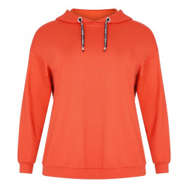 VERPASS HOODED SWEATSHIRT ORANGE - Plus Size Collection