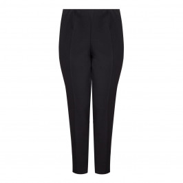 VERPASS BLACK PULL ON TROUSERS - Plus Size Collection