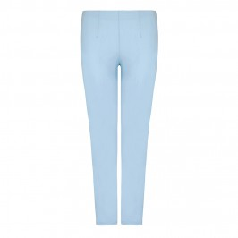 VERPASS baby blue TROUSERS with stretch - Plus Size Collection