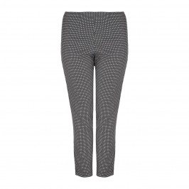 VERPASS small check TROUSERS - Plus Size Collection