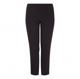 VERPASS black narrow leg pull-on TROUSER - Plus Size Collection