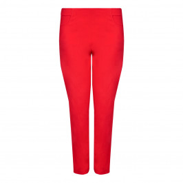 VERPASS TECHNO STRETCH NARROW LEG TROUSERS  - Plus Size Collection