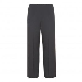VERPASS GREY BASIC STRAIGHT LEG TROUSERS - Plus Size Collection