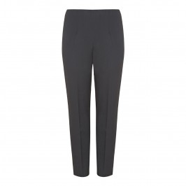 VERPASS charcoal Narrow leg split hem winter weight TROUSERS - Plus Size Collection