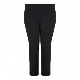 VERPASS ankle grazer TROUSERS with metallic bow embellishment - Plus Size Collection