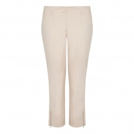 VERPASS stone ankle-grazer TROUSERS - Plus Size Collection
