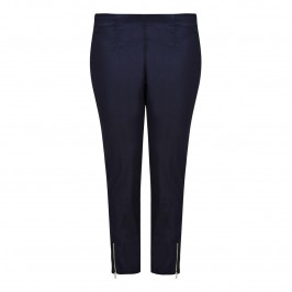 VERPASS indigo ankle grazer TROUSERS - Plus Size Collection