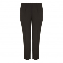 VERPASS black narrow leg summer weight TROUSERS - Plus Size Collection