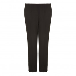 VERPASS black straight leg summer weight TROUSERS - Plus Size Collection