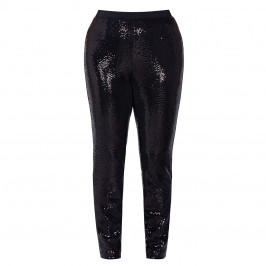 VERPASS SEQUIN PULL ON TROUSERS - Plus Size Collection