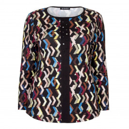 VERPASS JERSEY TUNIC JEWEL EMBELLISHED - Plus Size Collection