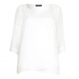 VERPASS white Tunic - Plus Size Collection