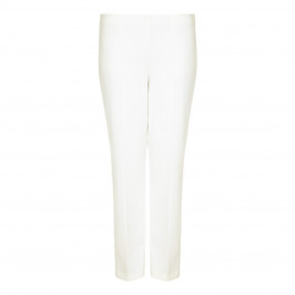 VERPASS ivory straight leg summer weight fluid TROUSERS - Plus Size Collection