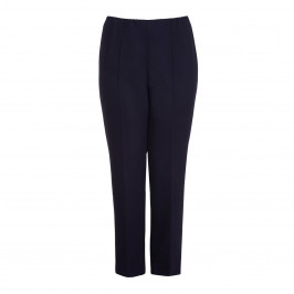 VERPASS navy straight leg summer weight TROUSERS - Plus Size Collection