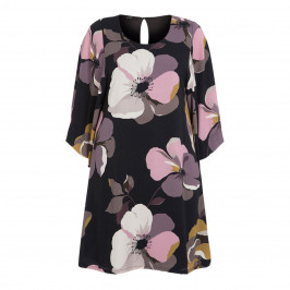 YOEK FLORAL PRINT DRESS - Plus Size Collection