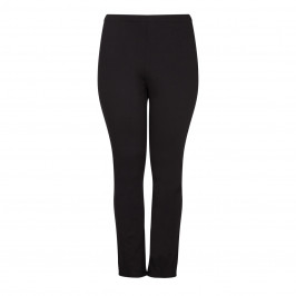 BEIGE LABEL BLACK PULL ON LEGGINGS  - Plus Size Collection