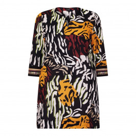 YOEK PRINTED PURE COTTON TUNIC  - Plus Size Collection