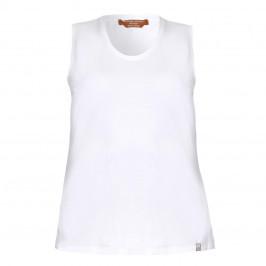 Marina Rinaldi white cotton VEST - Plus Size Collection