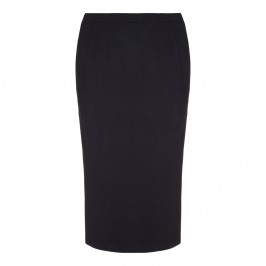 BEIGE long line black pencil SKIRT - Plus Size Collection