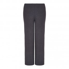 BEIGE jersey TROUSERS in grey marl - Plus Size Collection