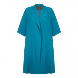 Marina Rinaldi teal formal COAT - Plus Size Collection