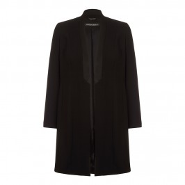 Marina Rinaldi black Long Jacket - Plus Size Collection