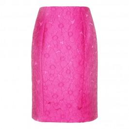 Marina Rinaldi fuchsia brocade SKIRT - Plus Size Collection