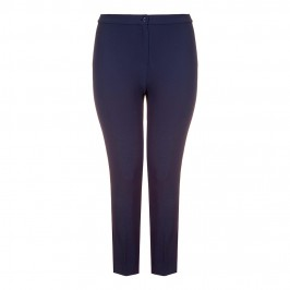 Marina Rinaldi french navy slim leg TROUSERS - Plus Size Collection