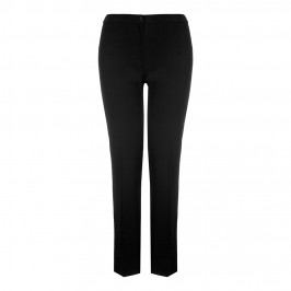 Marina Rinaldi black straight leg crepe TROUSERS - Plus Size Collection