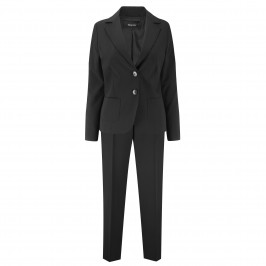ELENA MIRO BLACK JACKET AND TROUSERS - Plus Size Collection