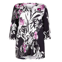 GAIA PRINT TUNIC - Plus Size Collection
