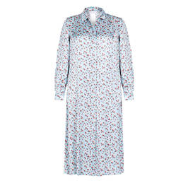 MARINA RINALDI PRINTED SHIRT DRESS - Plus Size Collection