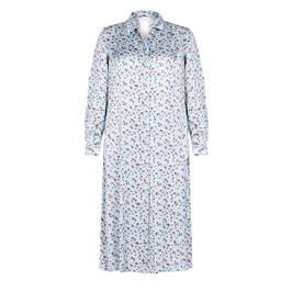 MARINA RINALDI PRINTED SHIRT DRESS - Plus Size Collection