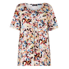 VERPASS JERSEY PRINT TOP LONG - Plus Size Collection