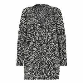 MARINA RINALDI BOUCLE CARDIGAN - Plus Size Collection