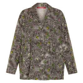 MARINA RINALDI PRINT SHIRT  - Plus Size Collection