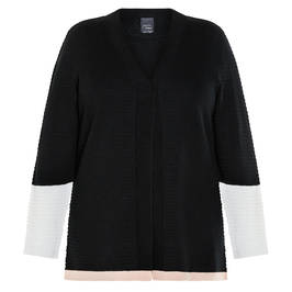MARIN RINALDI CARDIGAN BLACK - Plus Size Collection
