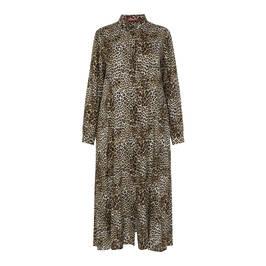 MARINA RINALDI ANIMAL PRINT DRESS - Plus Size Collection
