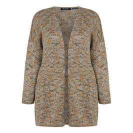 VERPASS KNITTED CARDIGAN - Plus Size Collection