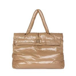 MARINA RINALDI TOTE BAG CAMEL - Plus Size Collection