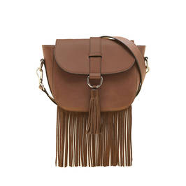 MARINA RINALDI CROSSBODY BAG BROWN - Plus Size Collection