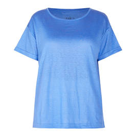 ZAIDA T-SHIRT PALE BLUE - Plus Size Collection