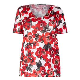 ZAIDA FLORAL PRINT TOP - Plus Size Collection