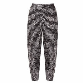 QNEEL JERSEY PULL ON TROUSERS BLACK - Plus Size Collection